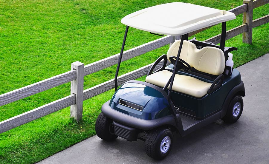 Returnable Packaging Golf Carts