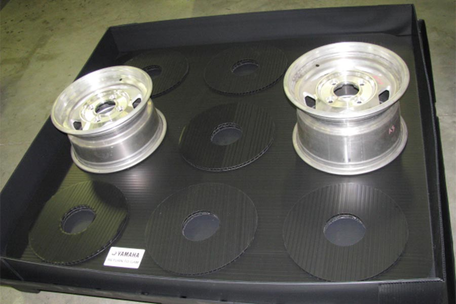 Wheel Pack Returnable Packaging