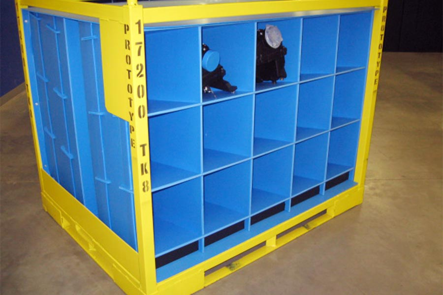 Steel Racks Carts Amp Dollies Returnable Packaging Resource