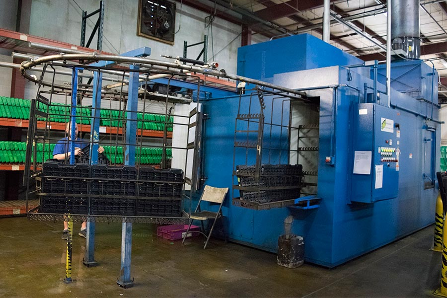 Returnable Packaging Cleaning